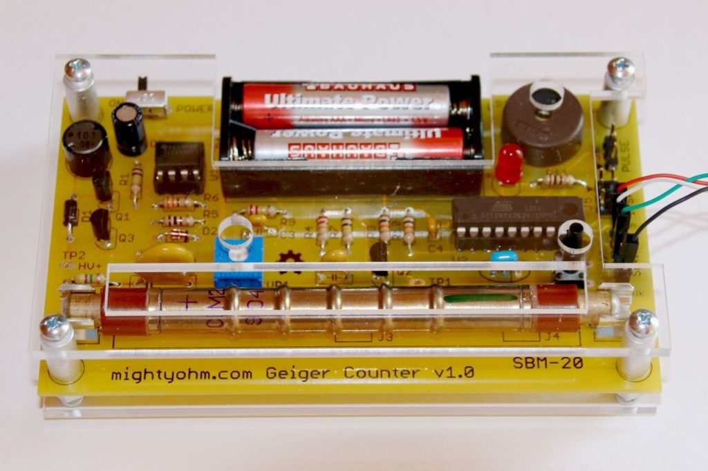 MigthyOhm Geiger Counter v1.0