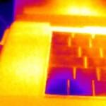 Iron: Falschfarben-Palette der Seek Thermal XR Wärmebildkamera