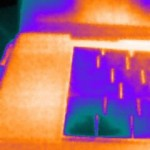 Cool: Falschfarben-Palette der Seek Thermal XR Wärmebildkamera