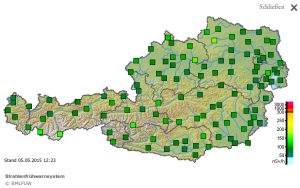 Strahlenfrühwarnsystem Österreich